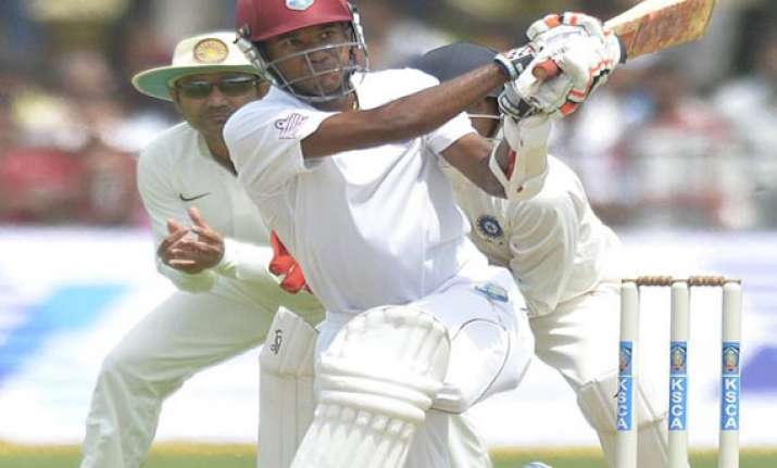brathwaite slams ton in drawn a match