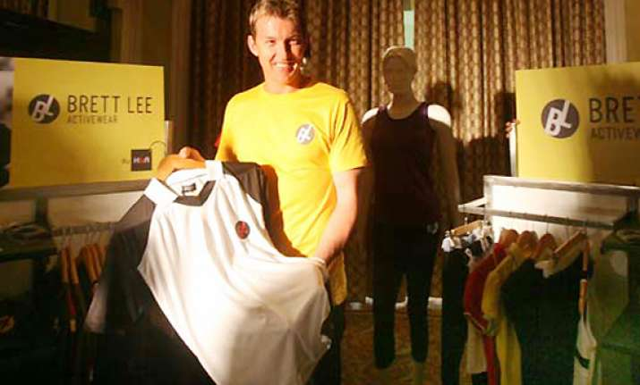 brett lee to bring his music active wear collection to india