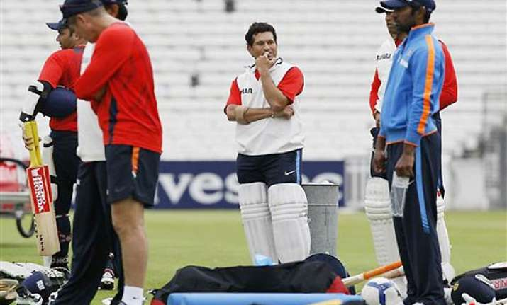 bruised india lack intensity in optional practice session