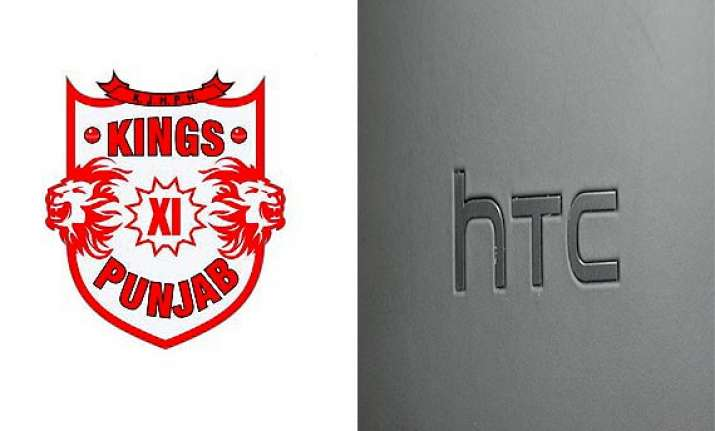 clt20 kings xi sign htc mobiles as official sponsor