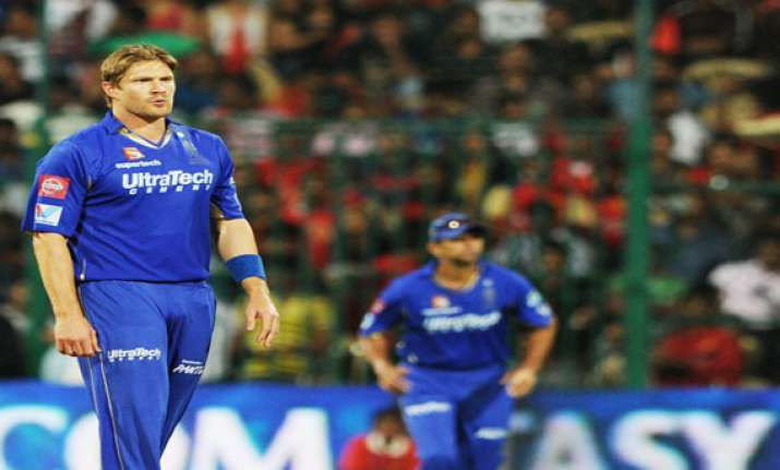 clt20 shane watson fined for foul language