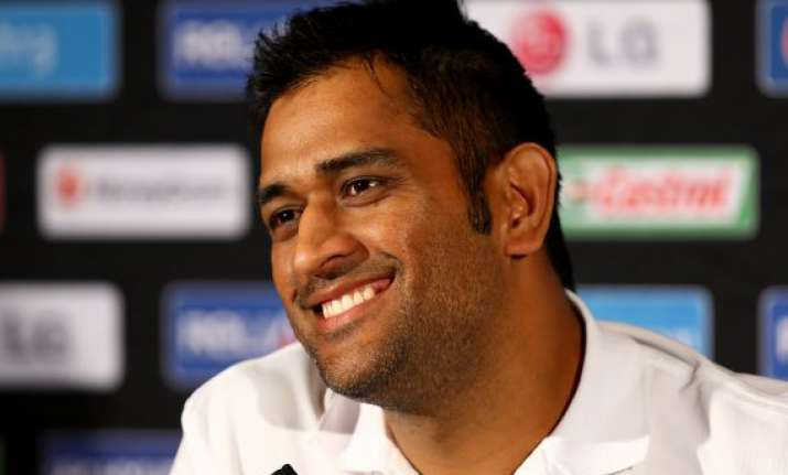 champions trophy dhoni says the showers helped us