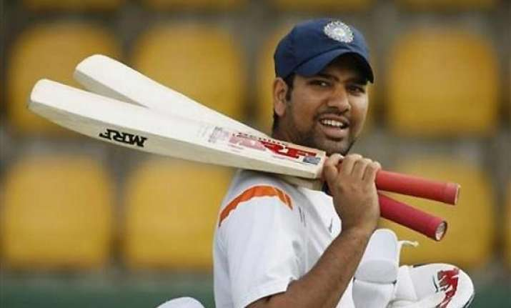 can never be complacent against aussies says rohit sharma