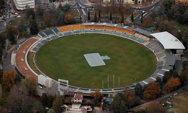 canberra to host odi for first time