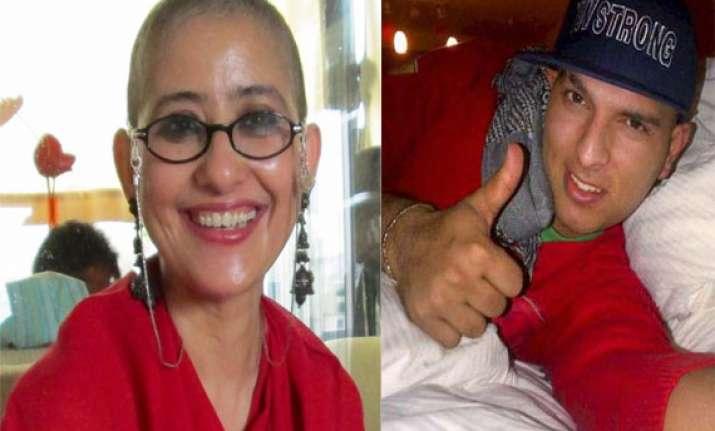 cancer has an answer say yuvraj manisha