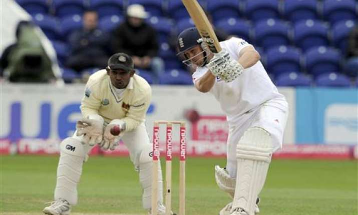 cardiff test england 148 for 2 at tea