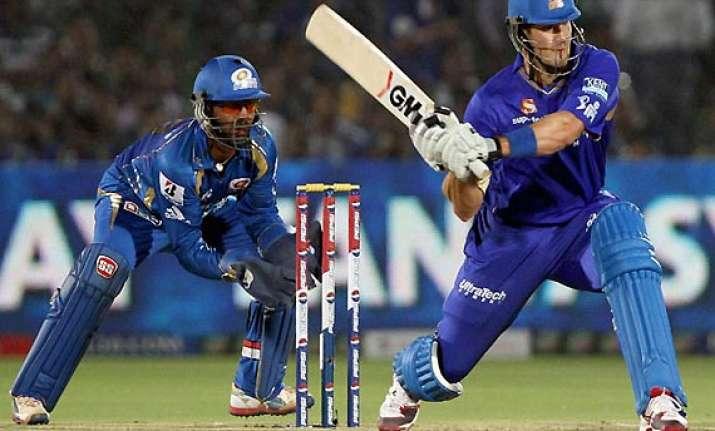 champions league t20 mumbai indians face rajasthan royals