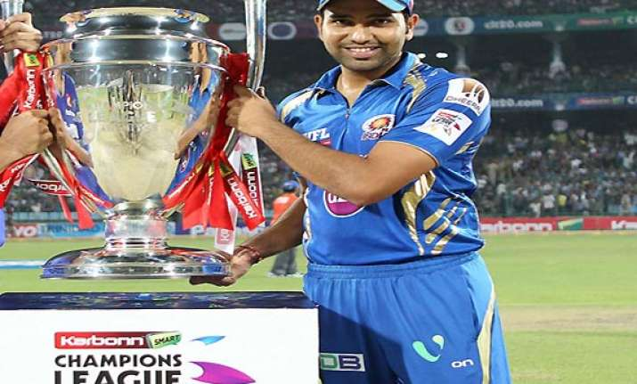 champions league mumbai indians are 2013 clt20 champs