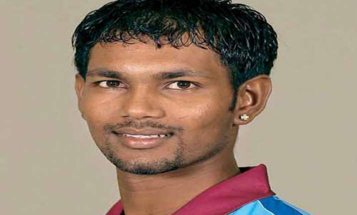 champions trophy west indies player ramdin charged with