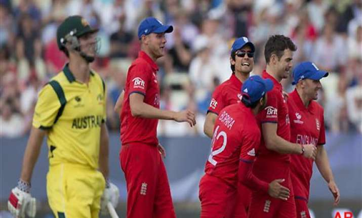 champions trophy england beat australia by 48 runs ian bell