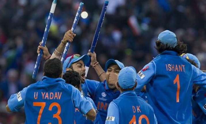 champions trophy india win champions trophy in twenty20