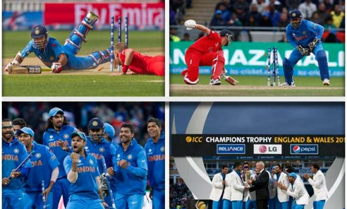 champions trophy team india s victory march in pictures