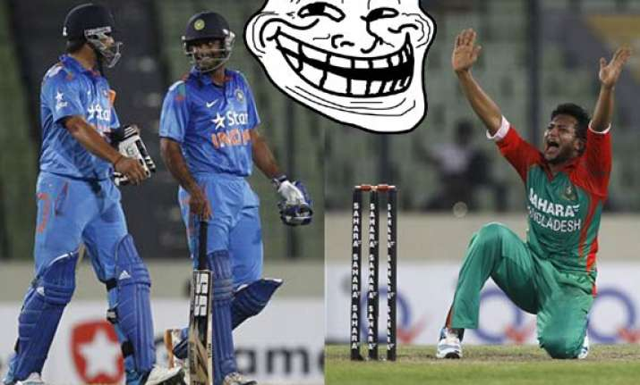 check out funny memes on bangladesh defeat against india in