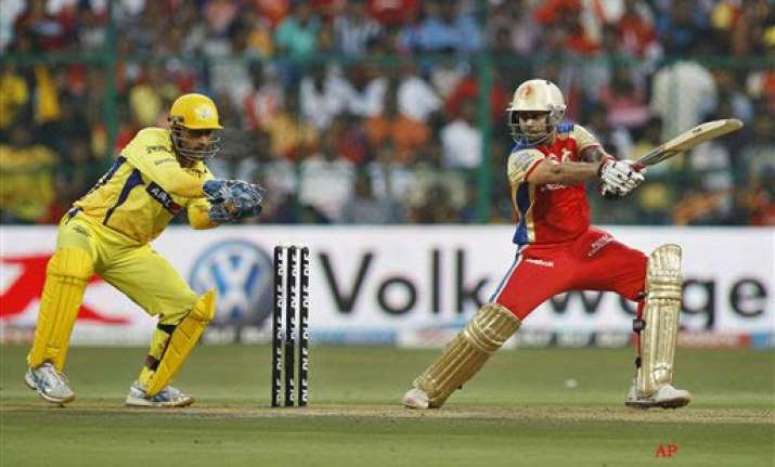 chennai rcb head for first play off
