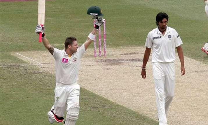 2nd test clarke slams triple ton as india battles to avoid