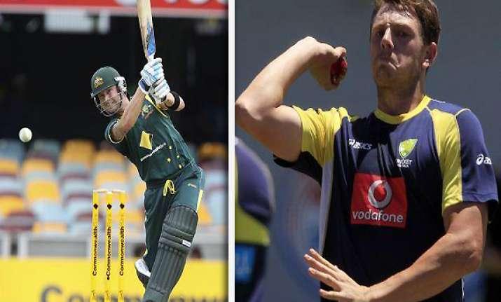 clarke pattinson to miss third final against lankans