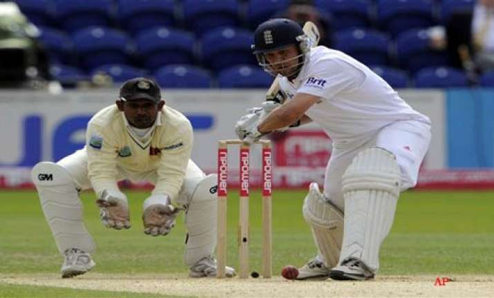 cook trott score unbeaten tons in cardiff test