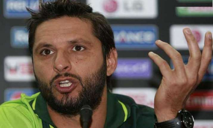 cricket can bring improvement in india pak ties shahid