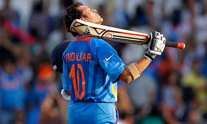 cricketing puzzle are sachin s tons misfortune for team