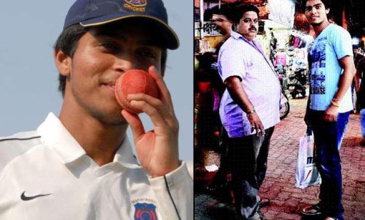 dadar hawker s son makes it to a team for west indies tour