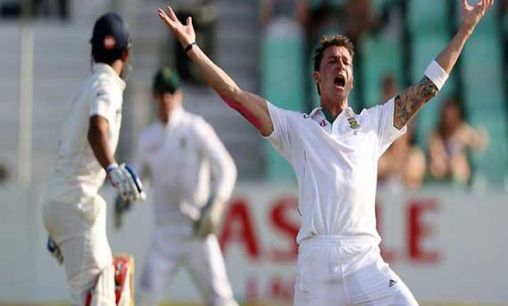 dale steyn stuns aussies south africa win test in late