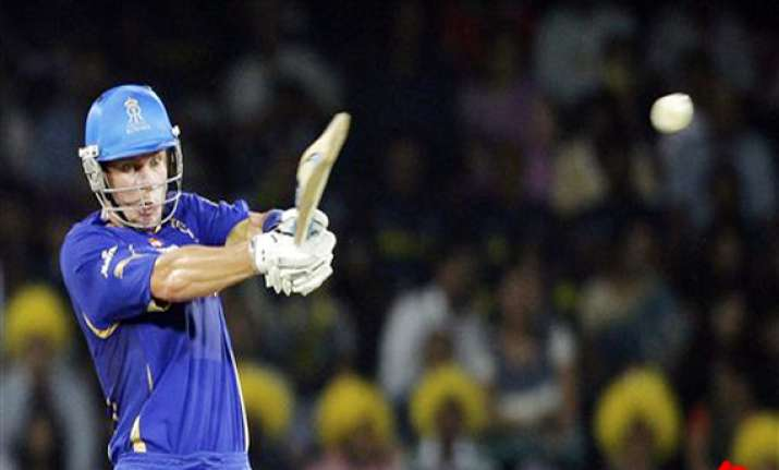 botha leads rajasthan to eight wicket win over deccan