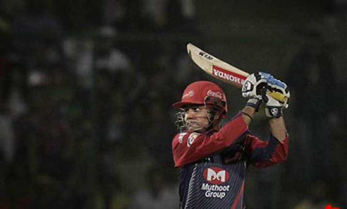 sehwag leads delhi to a much needed win