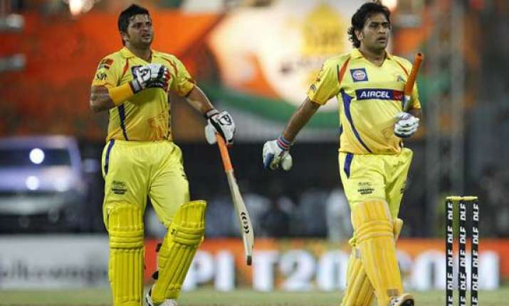 dhoni raina among six capped players named in mudgal report