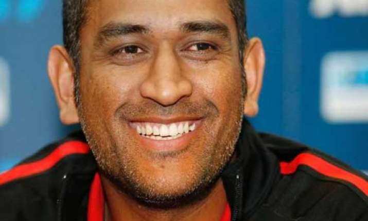 dhoni defends bowlers finds performance quite good