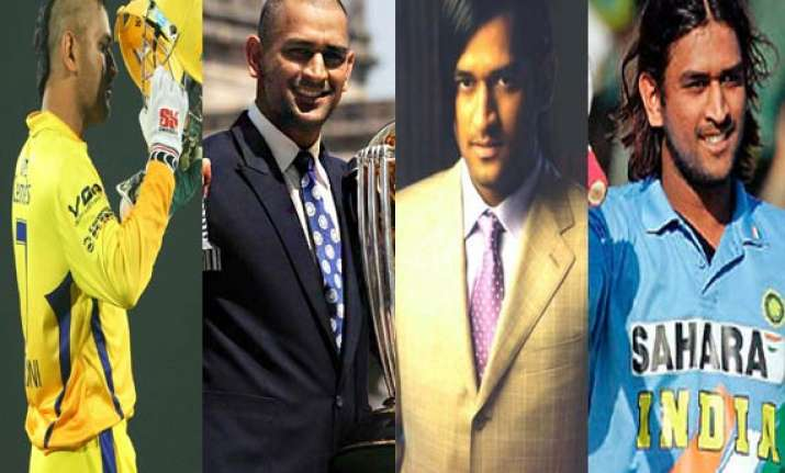 dhoni to be seen in different hair style in ipl 7