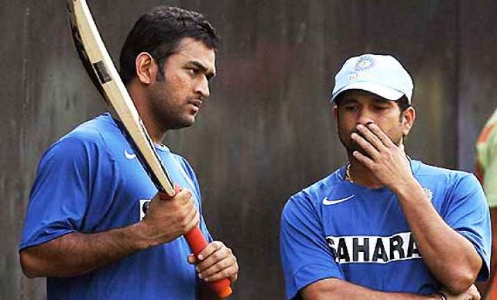 dhoni tendulkar rested for windies odis sehwag to lead