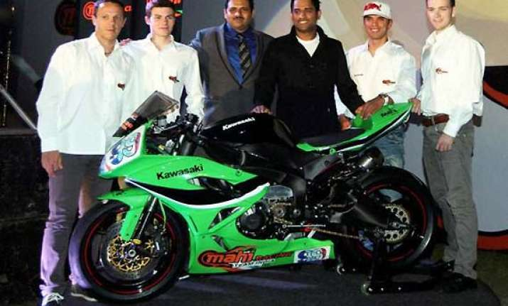dhoni s bike racing team to set up academies in delhi south