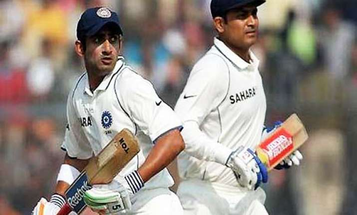 dhoni wants big scores from gambhir sehwag
