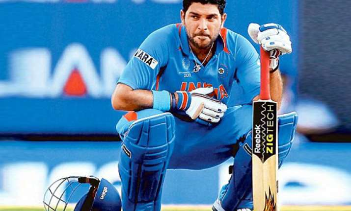 doctors say yuvraj s cancer not inside lungs
