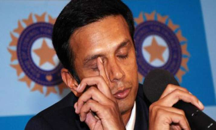 dravid says only law can deter fixing in cricket