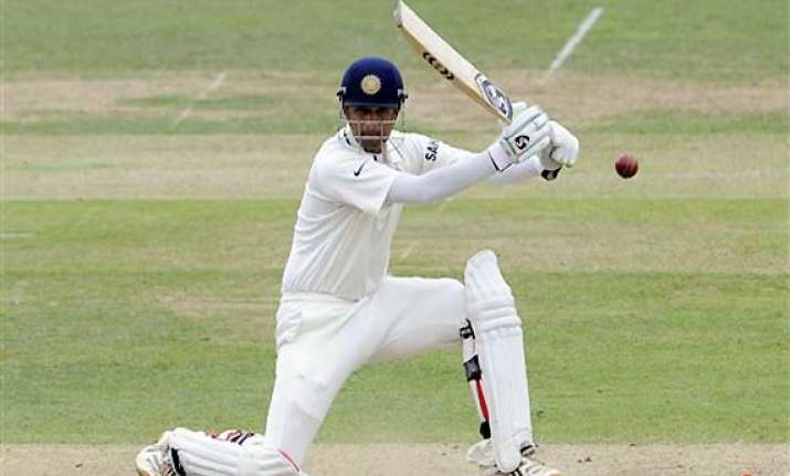 dravid becomes second highest run scorer in test