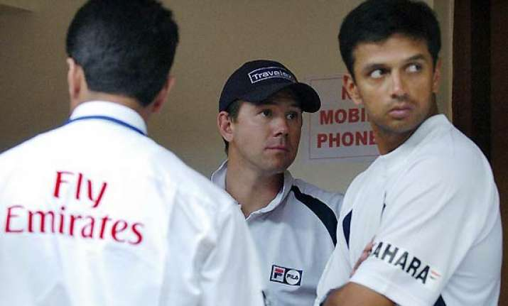 dravid hopes for ponting s golden run after india series