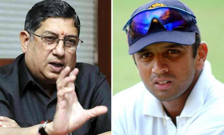 dravid irreplaceable says bcci chief