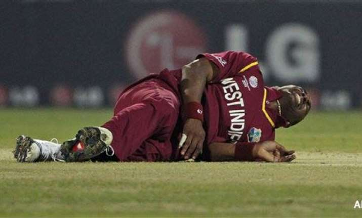 dwayne bravo injured out of world cup