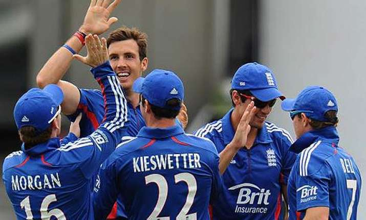 england beats scotland by 39 runs in rain hit odi
