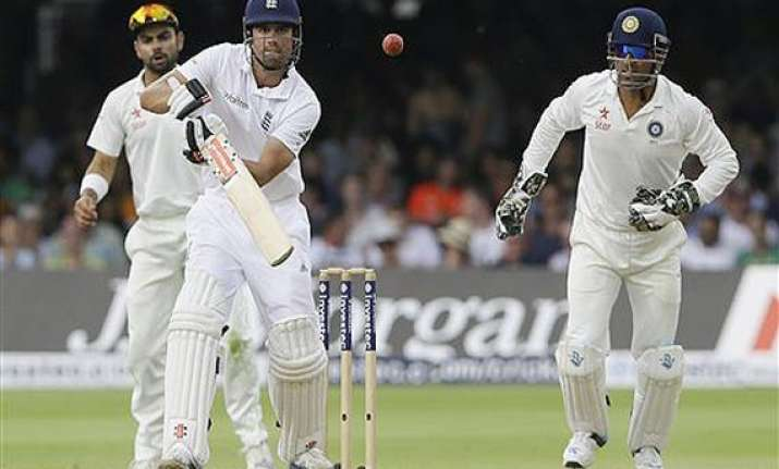 england reach 78 for 1 at lunch on 1st day vs india