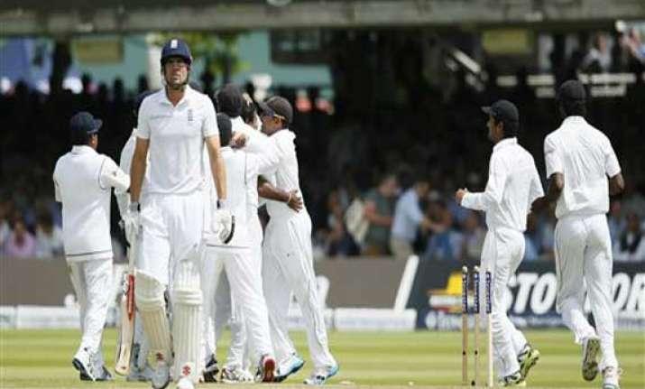 england 98 3 vs. sri lanka 1st test day 1 lunch