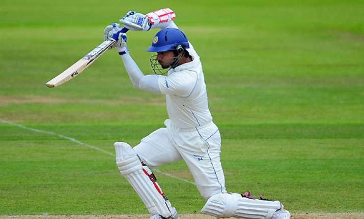 england win test series sangakkara s ton forces a draw