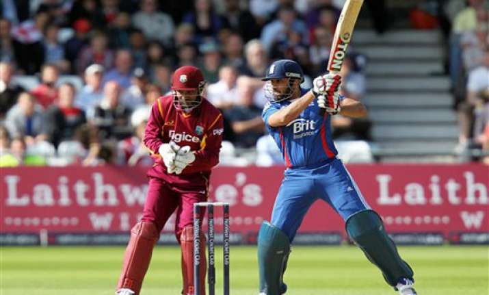 england reach 173 3 to beat windies by 7 wickets