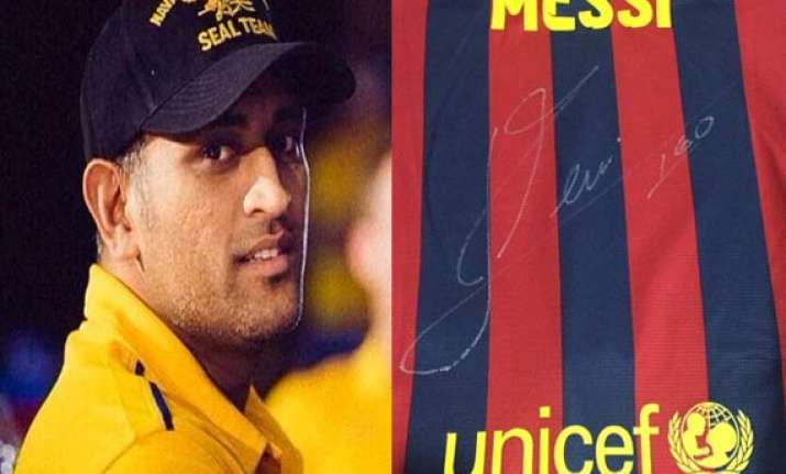 fifa fever dhoni gears up for the biggest soccer carnival