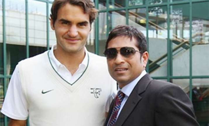 federer knows a lot about cricket says sachin