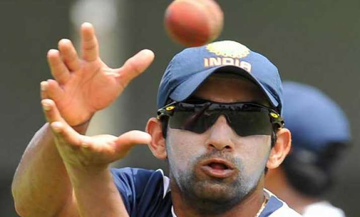 gambhir turns up for his office team ongc