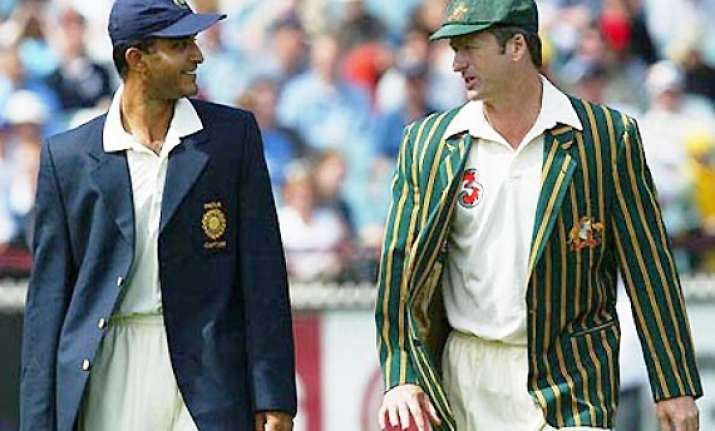 ganguly showed lack of respect by turning up late for toss
