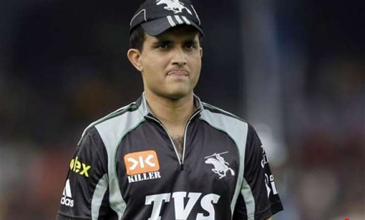 ganguly shines on comeback as pune beat deccan by six
