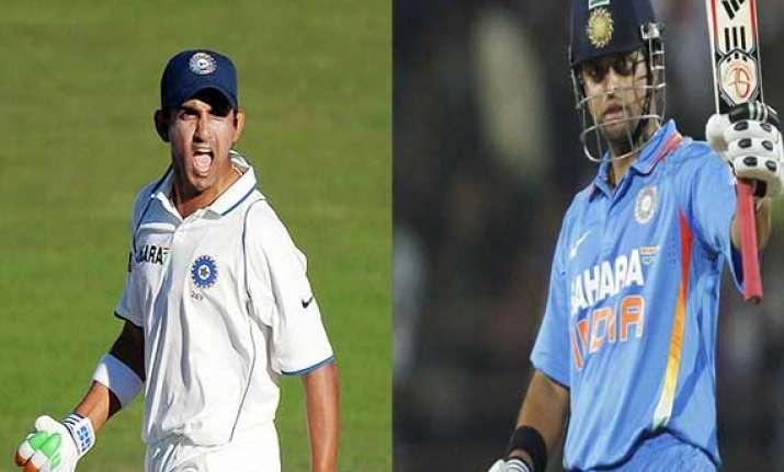 gautam gambhir makes a come back raina to lead india on